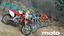 Primerjalni test: Husqvarna TE 450, Husqvarna TE 510, Honda CRF 450 X, KTM 250 EXC, KTM 300 EXC, KTM 450 EXC, KTM 525 EXC
