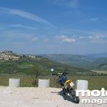 Pogled proti Motovunu. (foto: Matevž Hribar)