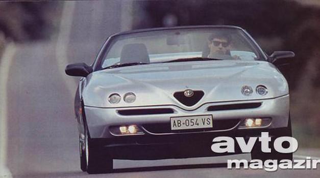 Alfa Romeo Alfa GTV, Alfa Spider