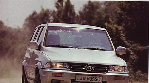 Ssangyong Musso 602 EL