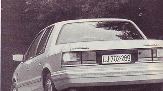 Chrysler Saratoga 2.5 Turbo