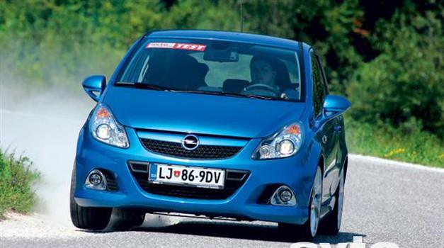 Opel Corsa OPC (foto: Saša Kapetanovič)