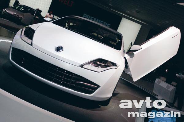 Video Renault Laguna Coupe Concept Novice Avto Magazin
