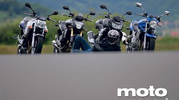 Primerjalni test: Slečeni motocikli 600-750