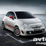 Fiat 500 Abarth na videu
