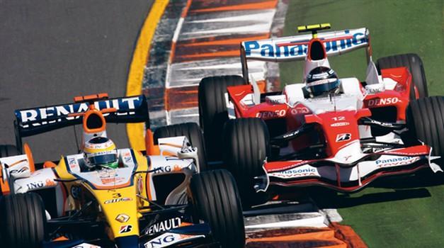 Formula 1: Popoln napovednik dirk v sezoni 2008
