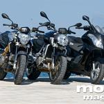 Aprilia Atlantic 500, Mana 850, Shiver 750