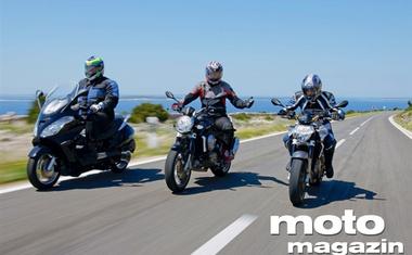 Aprilia Atlantic 500, Mana 850, Shiver 850