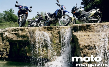 Aprilia Pegaso 650 i.e., BMW F 650 GS Dakar, Honda Transalp 650, Yamaha XT 660 R