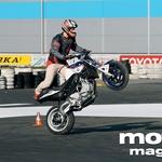 BMW F800 Stunt