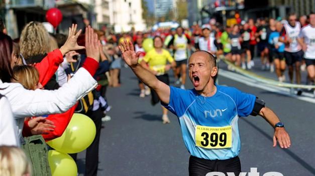 Fotoreportaža: Maraton presežkov (foto: Matej Grošelj)