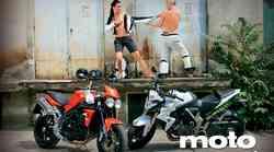 Honda CB 1000 R ABS in Triumph Speed Triple 1050