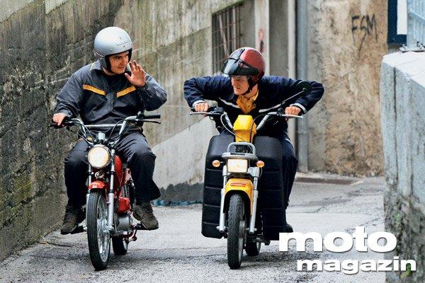 Tomos Hip Hop 45 in Tori Master 50 - Testi - Moto Magazin