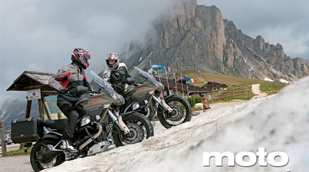 Vozili smo: Moto Guzzi Stelvio NTX ABS
