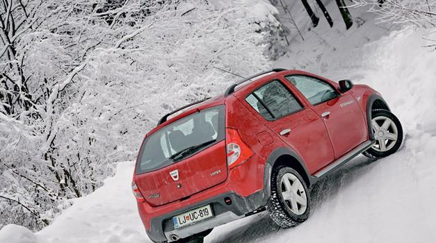 Test: Dacia Sandero 1.6i Stepway (foto: Vinko Kernc)
