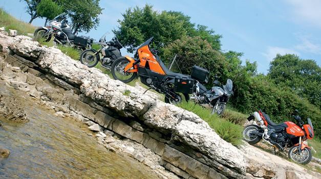 Primerjalni test: Veliki potovalni enduro motocikli (foto: Aleš Pavletič, Matevž Hribar)