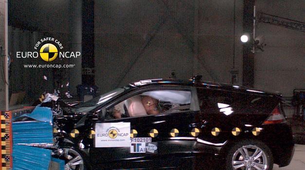EuroNCAP: Citroën C4, Honda CR-Z, Hyundai ix35 in Suzuki Swift (foto: EuroNCAP)