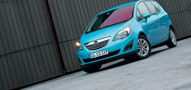Opel Meriva 1.7 CDTI (74 in 96 kW)