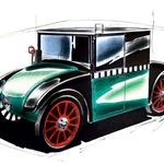 Tovarna je leta 1925 razvila tudi zaprto izvedbo karoserije. Tega v začetku niso predvideli, dokler ni mesto Berlin naročilo sto zaprtih, namenjenih taksi službi. (foto: Georg Gedl)
