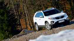 Kratek test: Kia Sorento 2.2 CRDi 4WD Platinum Edition