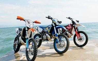 Husaberg TE 250, Gas Gas EC 250, KTM EXC 250