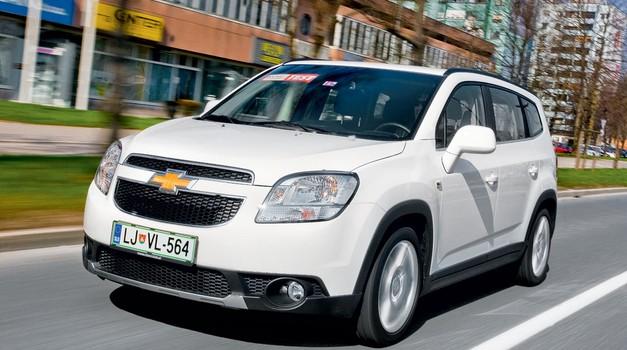 Test: Chevrolet Orlando 1.8 LTZ (foto: Aleš Pavletič)