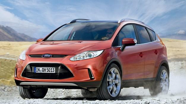 Ford Fiesta SUV (foto: Bojan Perko)