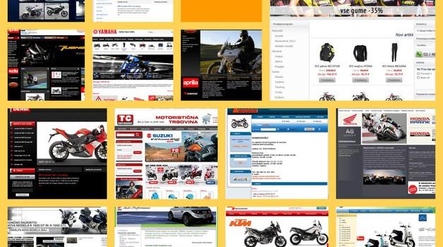 Ocenjujemo: Kako za svoja spletna mesta skrbijo prodajalci motociklov? (foto: Matevž Hribar)