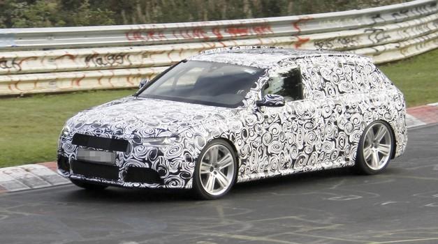 Vohunski posnetki: Audi testira RS4