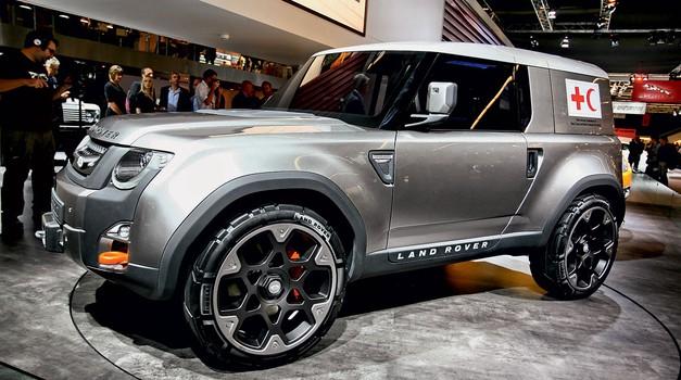 Frankfurt 2011: Land Rover (foto: Vinko Kernc)
