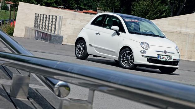 Kratek test: Fiat 500 0.9 TwinAir Turbo Lounge (foto: Saša Kapetanovič)