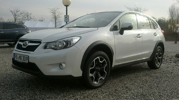 Aljoša se javlja: Tudi Subaru želi svoj kos SUV pogače (foto: Aljosa Mrak)