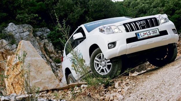 Kratek test: Toyota Land Cruiser 3.0 D-4D Professional Premium
