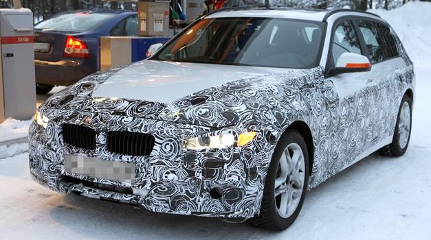 Vohunski posnetki: BMW serije 3 Touring (foto: Automedia)