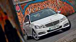 Kratek test: Mercedes-Benz E 250 CDI 4Matic BlueEFFICIENCY