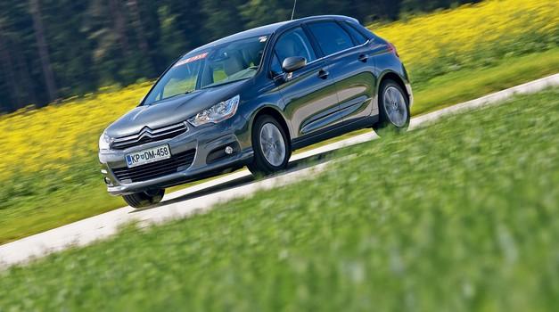 Kratek test: Citroën C4 VTi 120 Tendance (foto: Saša Kapetanovič)