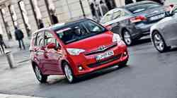 Test: Toyota Verso S 1.33 Dual VVT-i (73 kW) Sol
