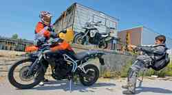 Primerjalni test: BMW F 800 GS in Triumph Tiger 800 XC