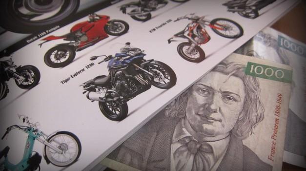 Vlada bi dodatno obdavčila motocikle nad 1.000 kubičnih centimetrov (foto: Matevž Hribar)