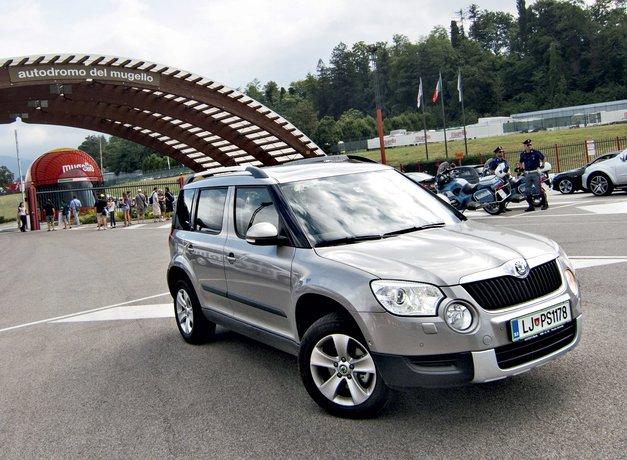 Škoda Yeti 2.0 TDI 4x4 Elegance
