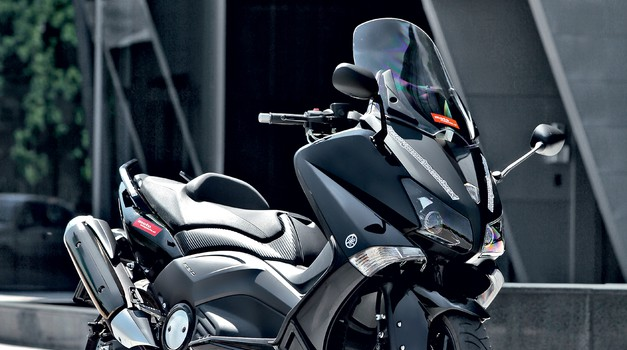 Test: Yamaha T-MAX 530 - pogled v prihodnost (foto: Aleš Pavletič)