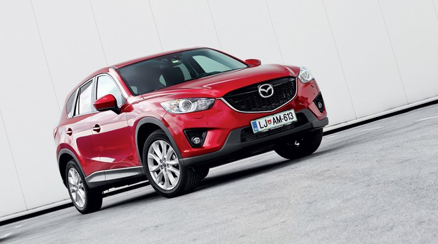 Kratek test: Mazda CX-5 CD150 AT AWD Attraction (foto: Aleš Pavletič)