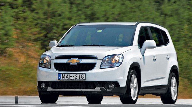 Kratek test: Chevrolet Orlando 2.0D (120 kW) LTZ (foto: Aleš Pavletič)