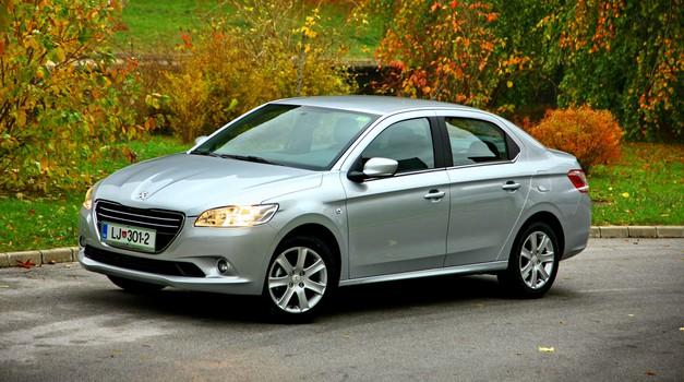 Novo v Sloveniji: Peugeot 301