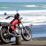 Suzuki GN 250 je najboljši motor na svetu (foto: Matevž Hribar)