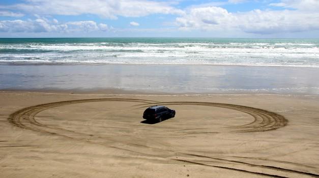 Včasih je avto pač boljša izbira ... (foto: Matevž Hribar)