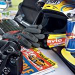 Vse potrebno za poročanje v živo na moto-magazin.si. (foto: Saša Kapetanovič, Peter Kavčič, Marko Tončič, Luka Kompare)