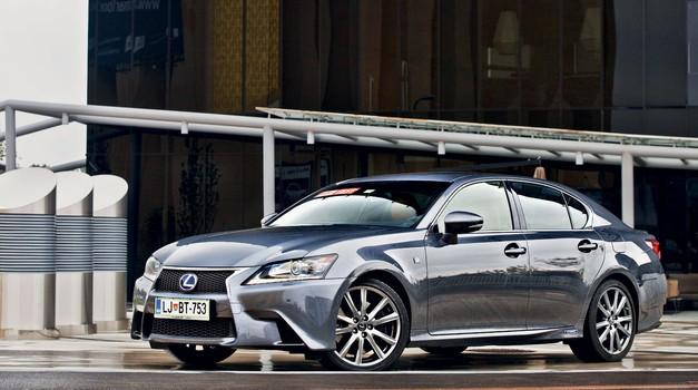Test: Lexus GS 450h F-Sport (foto: Saša Kapetanovič)