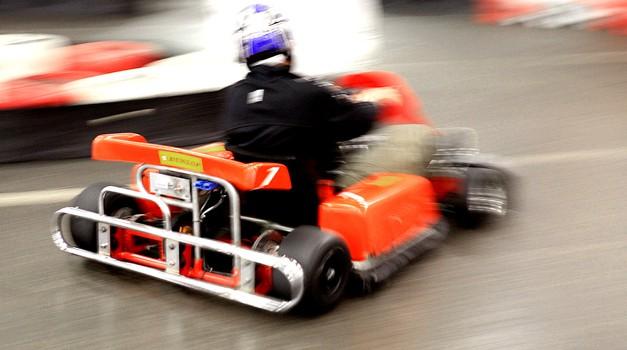 Avto magazinov karting pokal poteka do 20. decembra, ko se bodo v velikem finalu pomerili najhitrejši. (foto: Saša Kapetanovič)