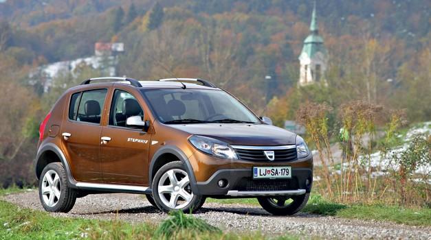 Kratki test: Dacia Sandero 1.5 dCi (65 kW) Stepway (foto: Saša Kapetanovič)